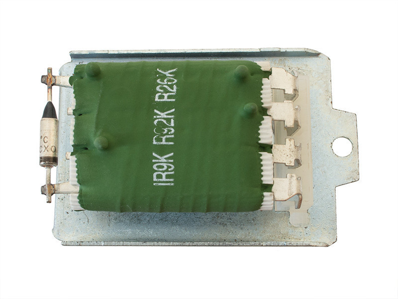 Seat Alhambra (1996 - 2010) реостат печки (резистор вентилятора отопителя, кондиционера)