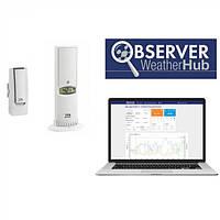 """Стартовый комплект TFA WeatherHub """"Observer"""", датчик температуры/влажности(31401202)"""