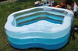 Детский надувной бассейн Intex 56495 надувное дно, фото 4