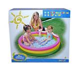 Детский надувной бассейн Intex 57412 круг 114х26см, фото 5