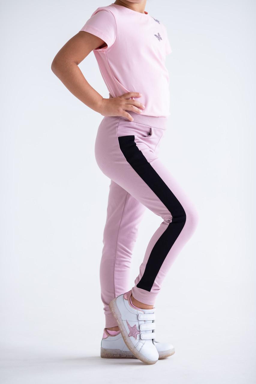 Штаны для девочек - G-20149W_пудра (размеры 98-122)