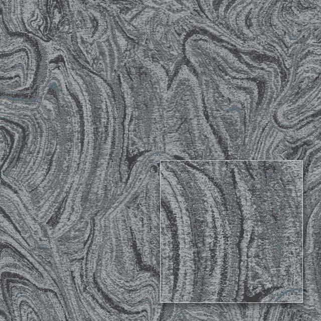 Обои на флизелиновой основе Sintra  362174  графит 1,06м*10,05м