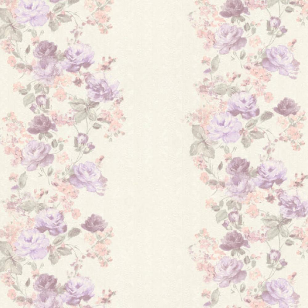 Обои на флизелиновой основе AS CREATION 36690-4 сиреневые цветы 1,06м * 10,05м