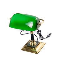 Лампа настольная зелёная BST 540196