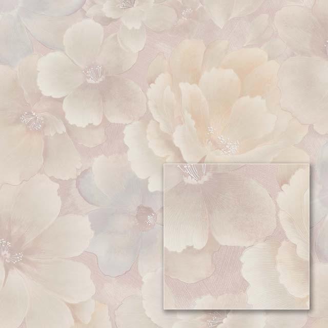 Обои на флизелиновой основе Sintra 363317 пудровые цветы 1.06*10.05м