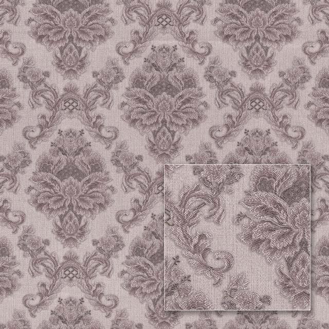 Обои на флизелиновой основе Sintra  447642 серо-лиловые узоры   1.06*10.05м