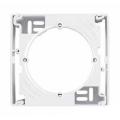 Коробка для наружного монтажа, одиночная, Sedna белый, SDN6100121
