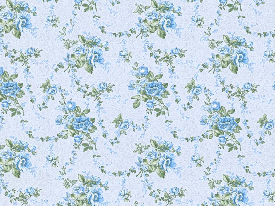 Бумажные обои Славянские обои Colorit Арабис 6565-03 голубой 0.53м*10.05м