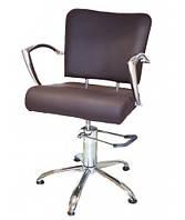 Перукарське крісло клієнта ПСА коричневе 6006brown