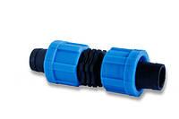 Муфта зажимная для ленты Drip Tape,Dn17 (МЗ17)
