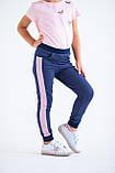 Штаны для девочек - G-20149W_синий (размеры 98-122), фото 2