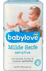 Детское Мыло Babylove milde Seife Германия