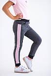 Штаны для девочек - G-20149W_антрацит (размеры 98-122), фото 2