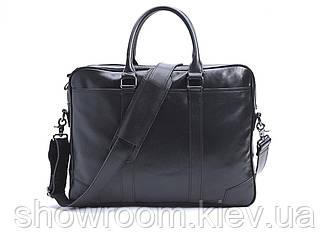Мужская деловая кожаная сумка для ноутбука Leather Collection (5035)