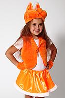 Премиум! Белочка Детский Маскарадный костюм, Комплектация 4 Элемента, Размеры 3-6 лет, Украина
