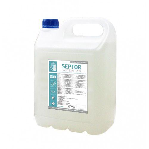 Дезинфицирующее средство для рук SEPTOR 5л( 72% изопропилового спирта,)