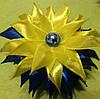 Магнит Патриотический №4 желто-голубой, фото 2