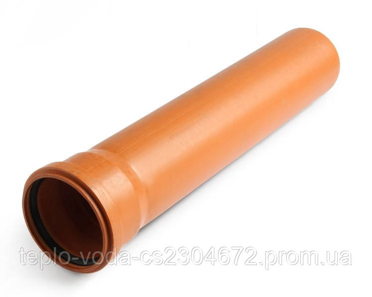 Труба ПВХ 110х2 Мпласт SN4 SDR34