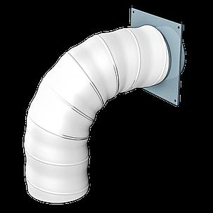 Повітропровід круглий Ера гнучкий армований 150 мм х 2 м (60-317), фото 2