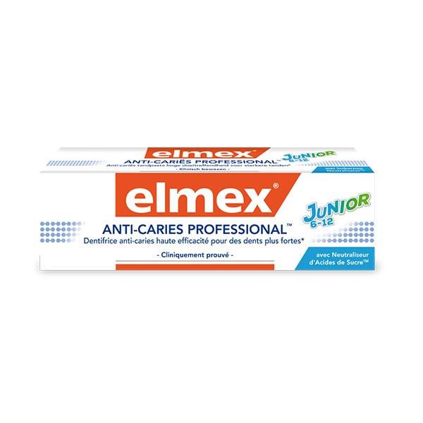 Зубна паста для дітей Elmex Anti-Caries Professional Junior джуніор, 75 мл
