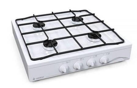 Плита настольная GEFEST 900-03  белая (4 конф,Газ контроль), фото 2