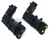 Щетки угольные двигателя  2шт  5*13,5*34 в корпусе черные Г-образные RIGHT 162IG38 481236248004 (замена C00194594)  RIGHT