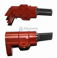 Угольные щетки двигателя 2шт(5*12,5*36) в корпусе (коричневые Г-образные) в упаковке C00196545