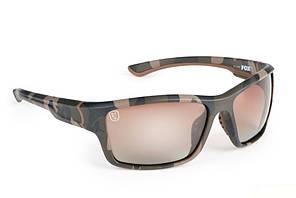 Окуляри Fox Avius Wraps - Camo Frame Brown Gradient Lens