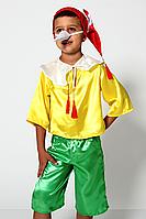 Премиум! Буратино Маскарадный Детский костюм, Комплектация 4 Элемента, Размеры 3-6 лет, Украина