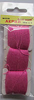 Акрил для вышивки: лиловый яркий. № 12130