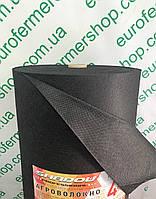 Агроволокно черное Shadow (Чехия) 60г/м2, 1.6х100м.Для мульчирования.