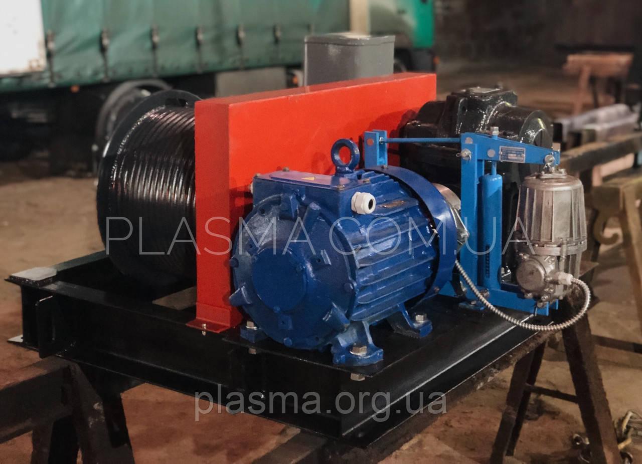 Лебідка металургійна ЛАК-3,5, ЛАК-5 для управління атмосферних клапаном