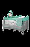 Манеж - кровать Lionelo Flower с пеленатором и дугой, фото 4
