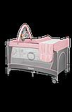 Манеж - кровать Lionelo Flower с пеленатором и дугой, фото 2