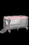 Манеж - кровать Lionelo Flower с пеленатором и дугой, фото 5