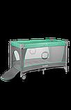 Манеж - кровать Lionelo Flower с пеленатором и дугой, фото 6