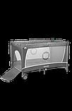 Манеж - кровать Lionelo Flower с пеленатором и дугой, фото 7