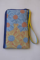 Чехол для мобильного телефона под вышивку бисером 8 на 13 см.