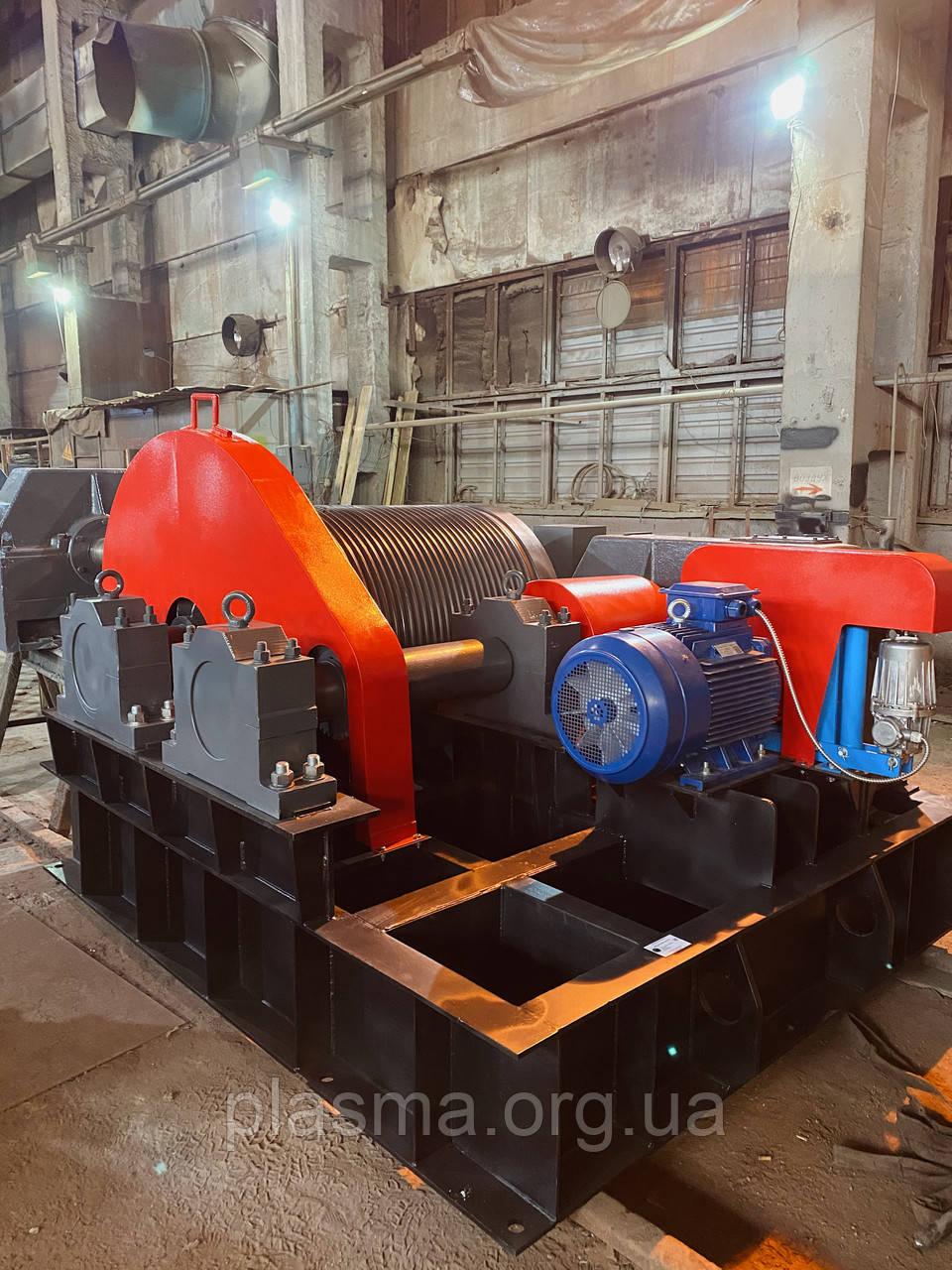 Лебідка металургійна шлаковозна ЛШ-12