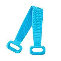 Двухсторонняя силиконовая мочалка-массажер для тела Dual Sided Back Scrubber