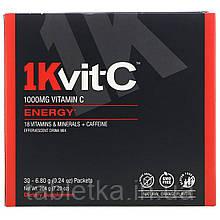 1Kvit-C, ВитаминC, повышение уровня энергии, шипучая смесь для приготовления напитка, натуральный