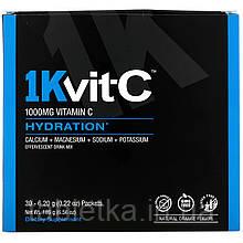 1Kvit-C, ВитаминC, поддержание водного баланса, шипучая смесь для приготовления напитка, натуральный