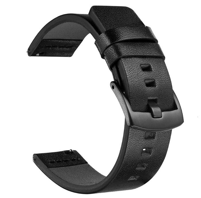 Кожаный ремешок Primo Classic для часов Samsung Galaxy Watch 3 41mm (SM-R850) - Black