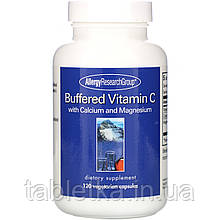 Allergy Research Group, Buffered Vitamin C with Calcium and Magnesium, 120 Vegetarian Capsules