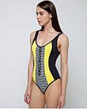 Злитий жіночий купальник Bip Bip з ущільненої чашкою Zipper 20GF, фото 2