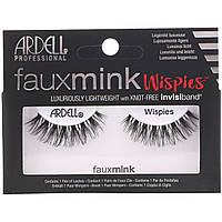 Ardell, Faux Mink, накладные ресницы Wispies, 1 пара