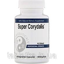 Balanceuticals, Super Corydalis, Professional Strength, 500 mg, 60 Vegetarian Capsules