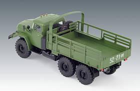 ЗиЛ-131. Сборная модель советского военного грузового автомобиля в масштабе 1/35. ICM 35515, фото 2