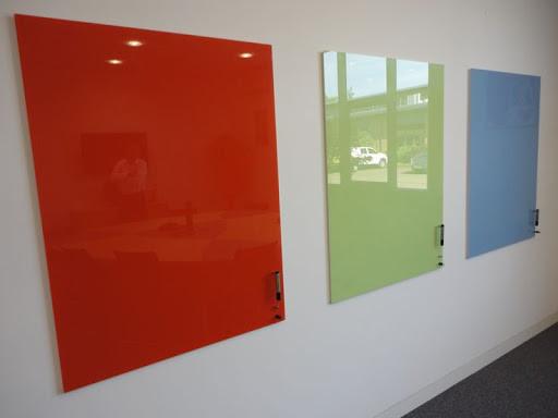 Доска презентационная маркерная стеклянная 400*600мм