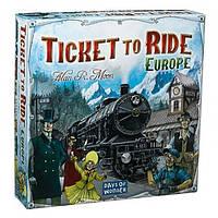 Ticket to Ride: Europe - Билет на поезд Европа (ENG)